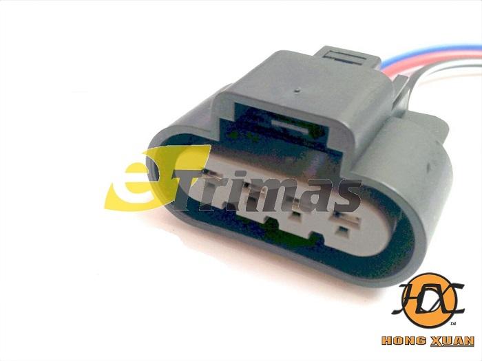 HX-3843-FM Proton Waja Fuel Pump Socket Connector