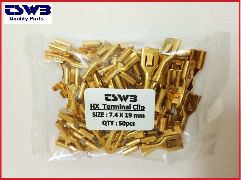 HX AUTOMOTIVE HIGH AMPERE 30AMP WIRE TERMINAL CLIP (50pcs)