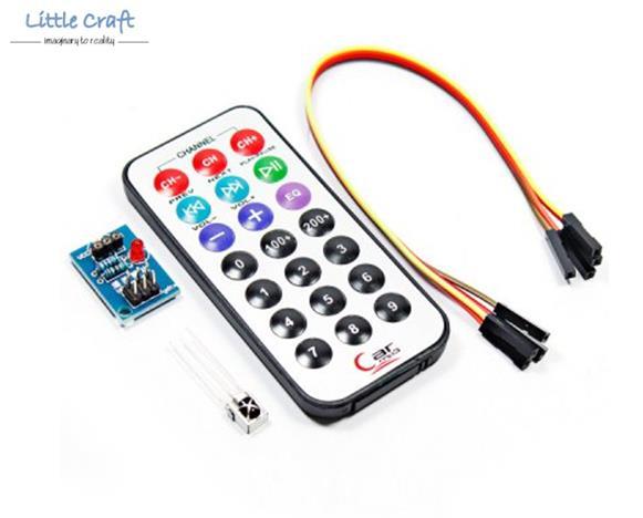 HX1838 + NEC Code Infrared IR Wireless Remote Control Module Kits