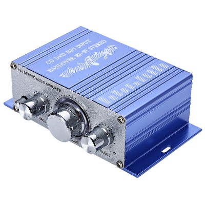 HY - 2001 Mini 2CH Hi-Fi Stereo Audio Output Power Amplifier