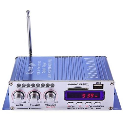 HY - 502 USB FM AUDIO CAR STEREO AMPLIFIER RADIO MP3 SPEAKER LED HI-FI 2  CHANN