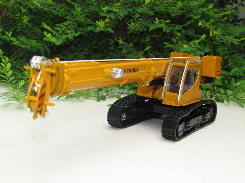 HY Truck 1/50 Diecast Crawler Tracked Crane Construction Vehicle