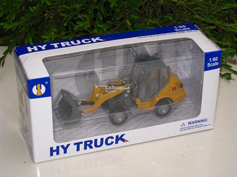 HY Truck 1/60 Diecast Loader Construction Vehicle (Yellow)