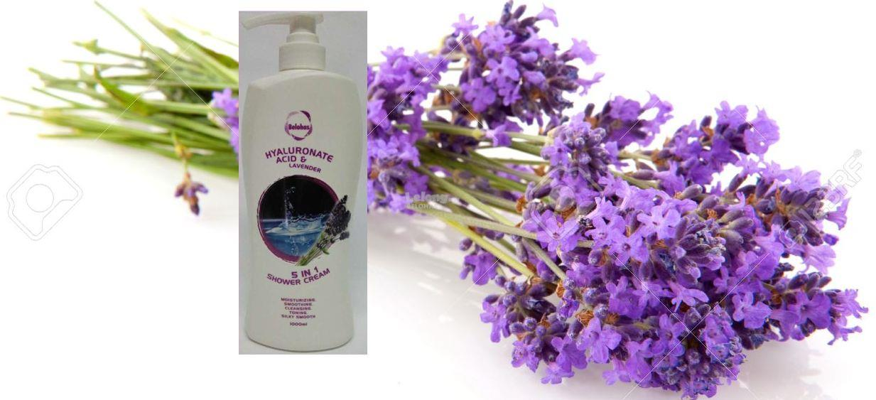 HYALURONATE ACID & LAVENDER 5 IN 1 SHOWER CREAM /BODY SHAMPOO