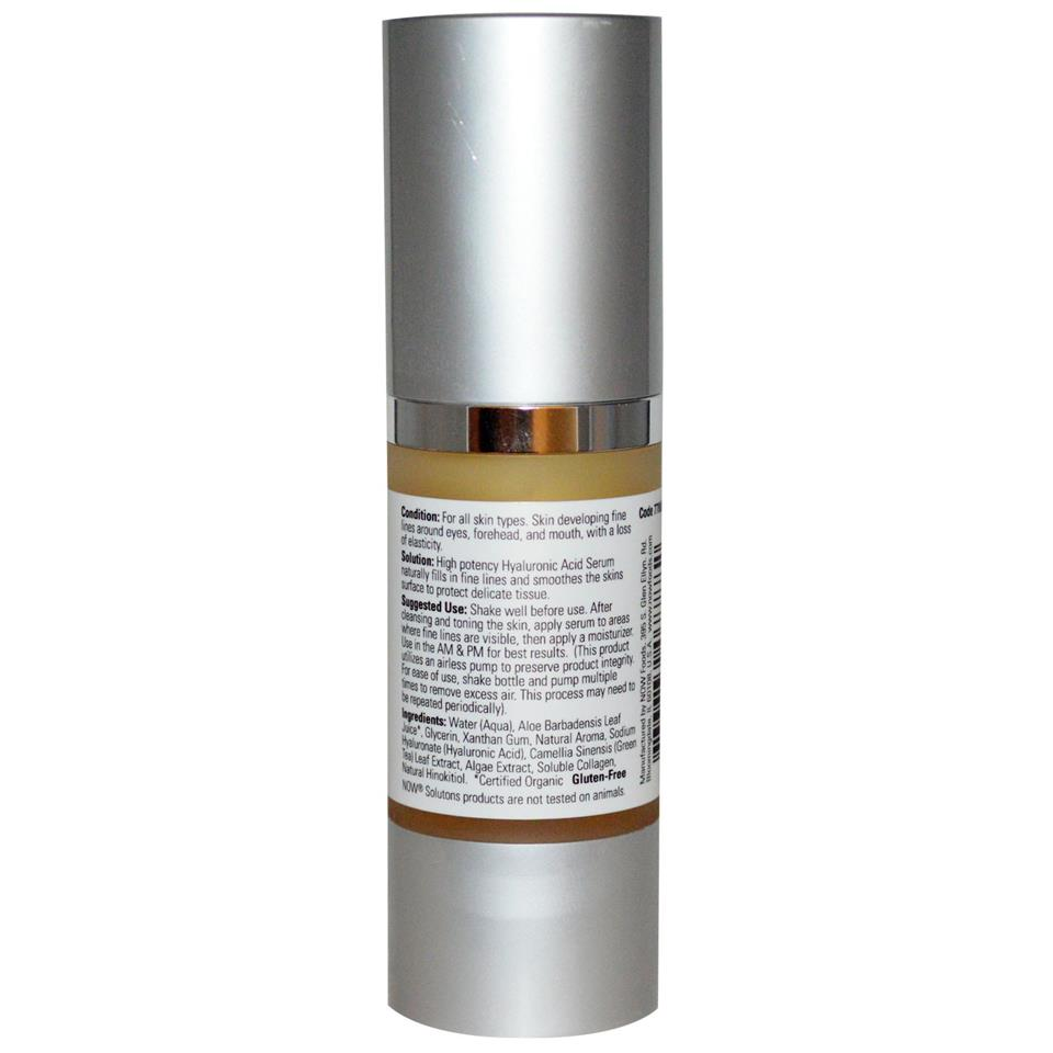 Hyaluronic Acid Firming Serum, Reduces Fine Lines (30 ml)