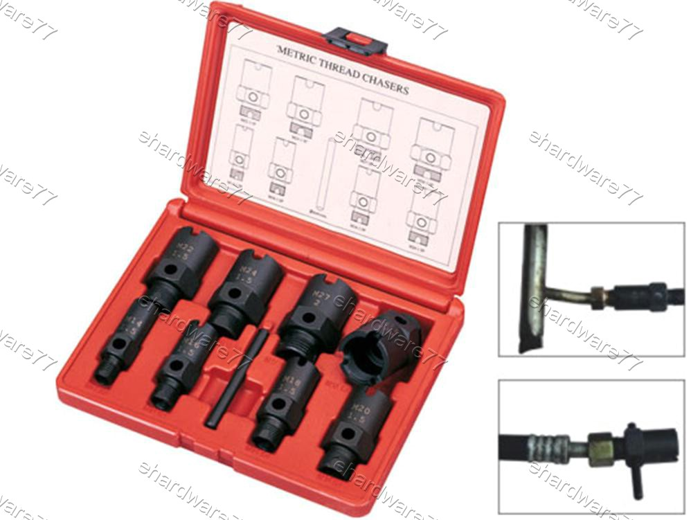 HYDRAULIC / GAS FITTING THREAD REPAIR CHASERS SET (1361)