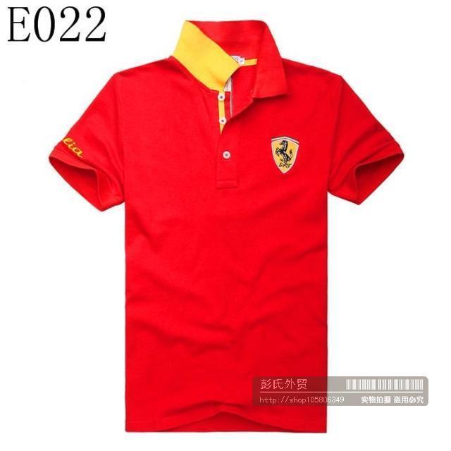 HYDROGEN ITALIA Lamborghini HORSE LOGO Men Fashion Polo T Shirt. U2039 U203a