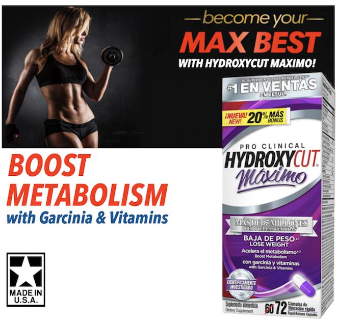 Hydroxycut, Pro Clinical, Maximo, 72 Caps (Burn Fat, Bakar Lemak) USA