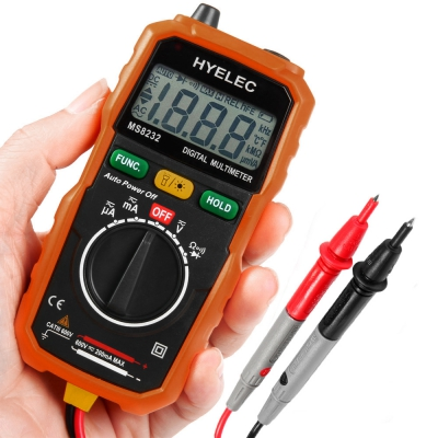 HYELEC MS8232 Non-contact Mini DC AC Voltage Current Tester