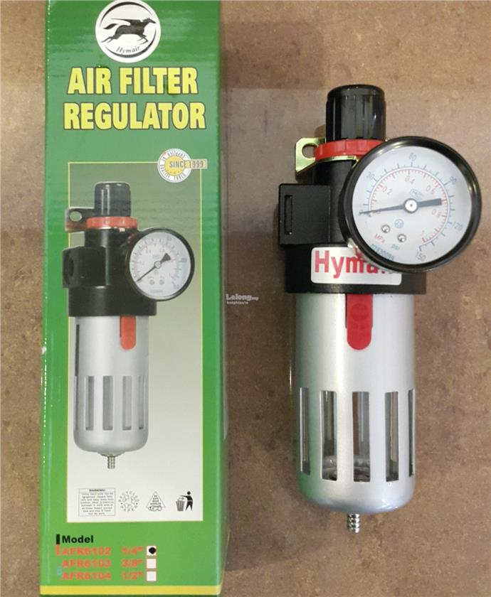 Hymair AFR6102 1/4' Air Filter Regulator B0127
