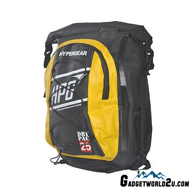 Hypergear Back Pack Dry Pac ID 25 Liter - Yellow