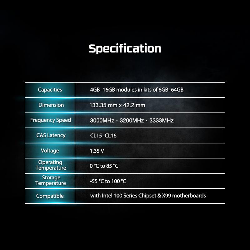HyperX 16GB 3200MHz Predator DDR4 CL16 Desktop Memory XMP (HX432C16PB3