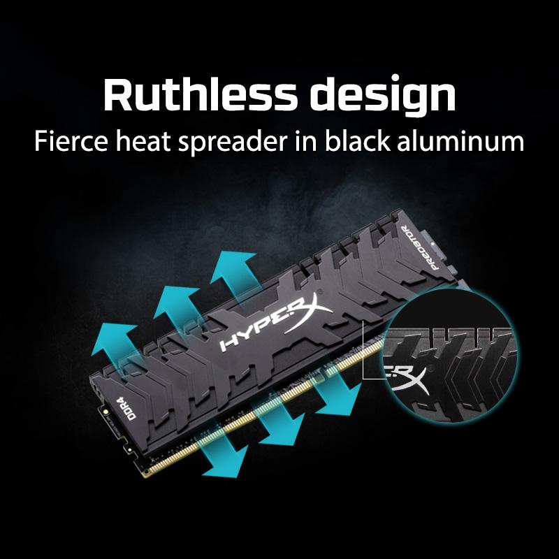 """Resultado de imagen para MEMORIAS - DDR4 Kingston HyperX Predator 16GB 2666MHz"""""""
