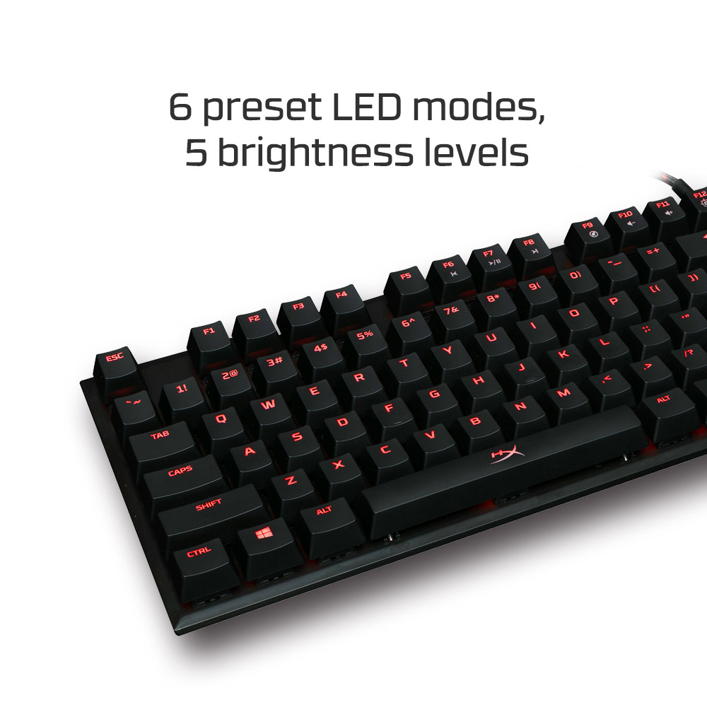 9fa3bf17e6c HyperX Alloy FPS Pro Mechanical Gaming Keyboard MX Red (HX-KB4RD1-US/