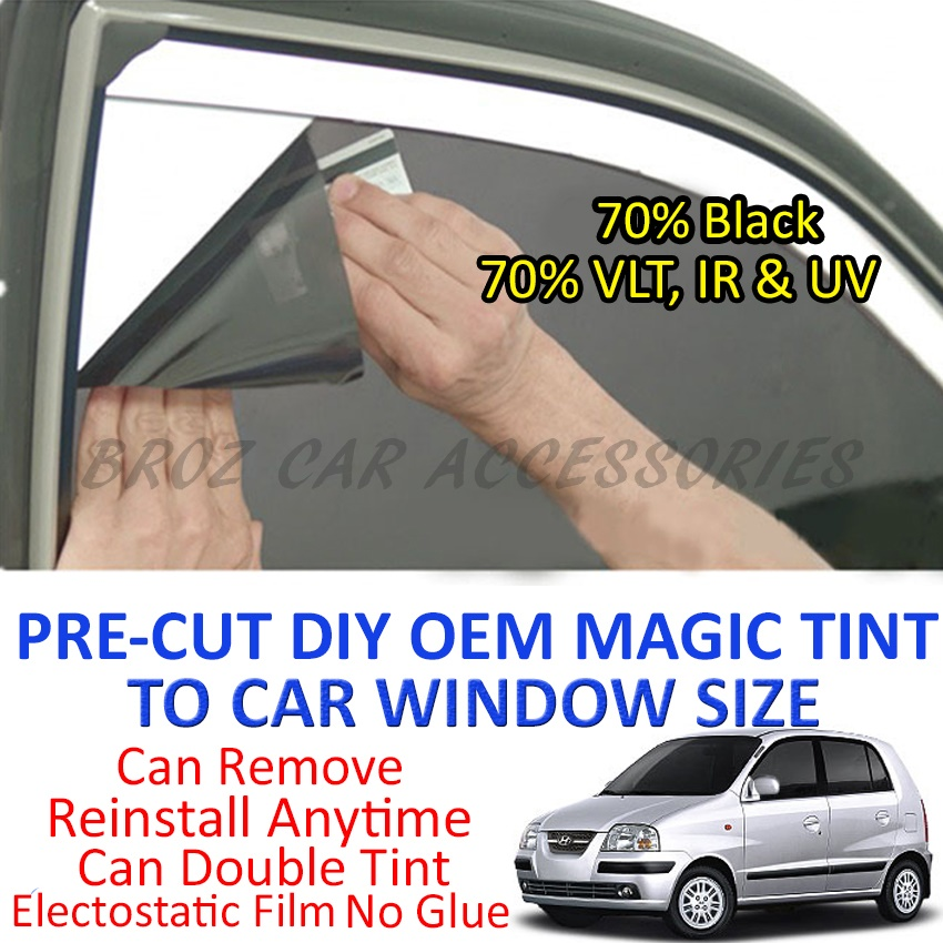 Hyundai Atos Magic Tinted Solar Window ( 4 Windows ) 70% Black