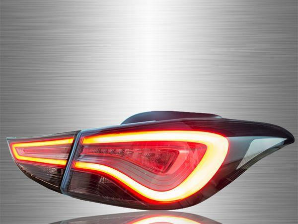 HYUNDAI ELANTRA 2011-2017 FL-Style Smoke Lens LED Light Bar Tail Lamp