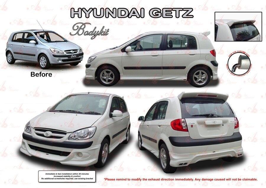 Hyundai Getz Am Style Bodykit Spoi End 3 21 2020 5 13 Pm