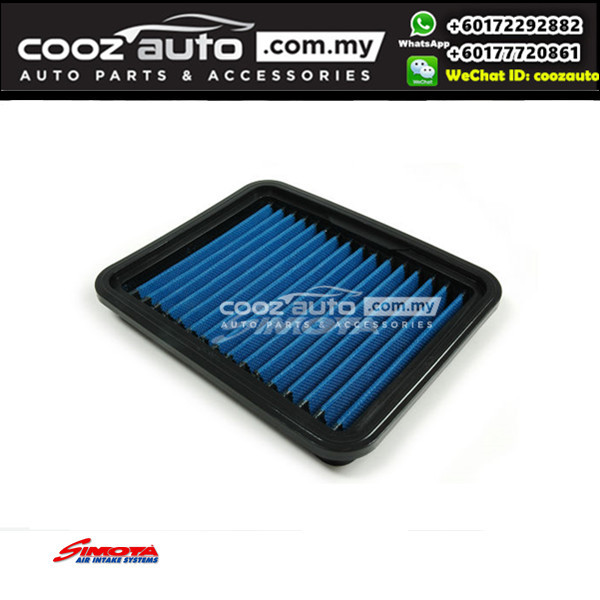 Hyundai I10 2007 - 2013 Works Engineering Simota Washable Drop In Air