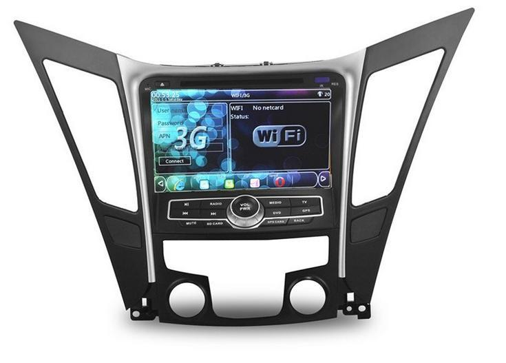 Hyundai Sonata 8 Car DVD WIFI 3G GPS 8 inch Touch Screen