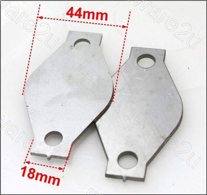 Hyundai Starex H1 EGR Valve Blocking Blanking Plate (2Pcs) (HSBP60)