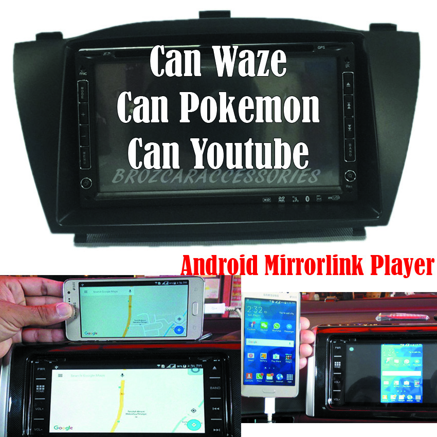 Hyundai Tucson 6 2' Mirror Link Android OEM Plug & Play DVD Player