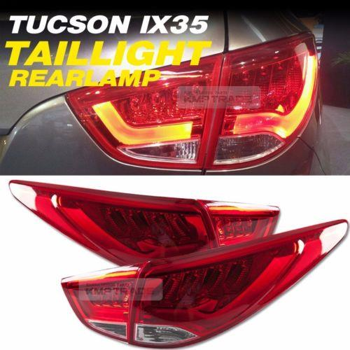 Hyundai Tucson IX 35 09-15 LED Light Bar Tail Lamp - Red