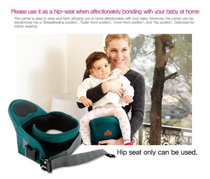 New I Angel Mesh Hipseat Baby Carrier 4 Color Free Ground Shipping