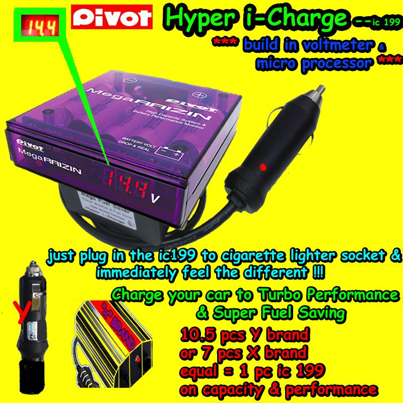 i-Charge Fuel Saver allCAR+Honda Accord Civic City Jazz Stream CRV Odyssey v6