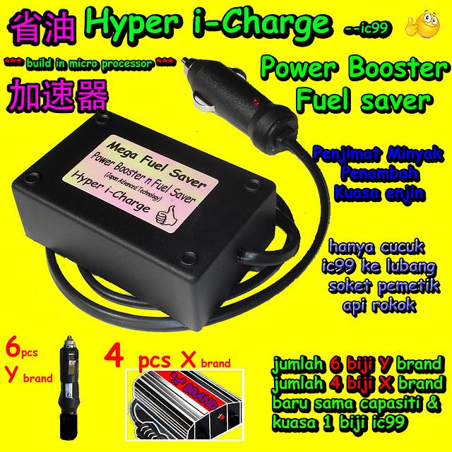 i-Charge Max Power Controller mpc Fuel Saver Power Booster Carconi penjimat