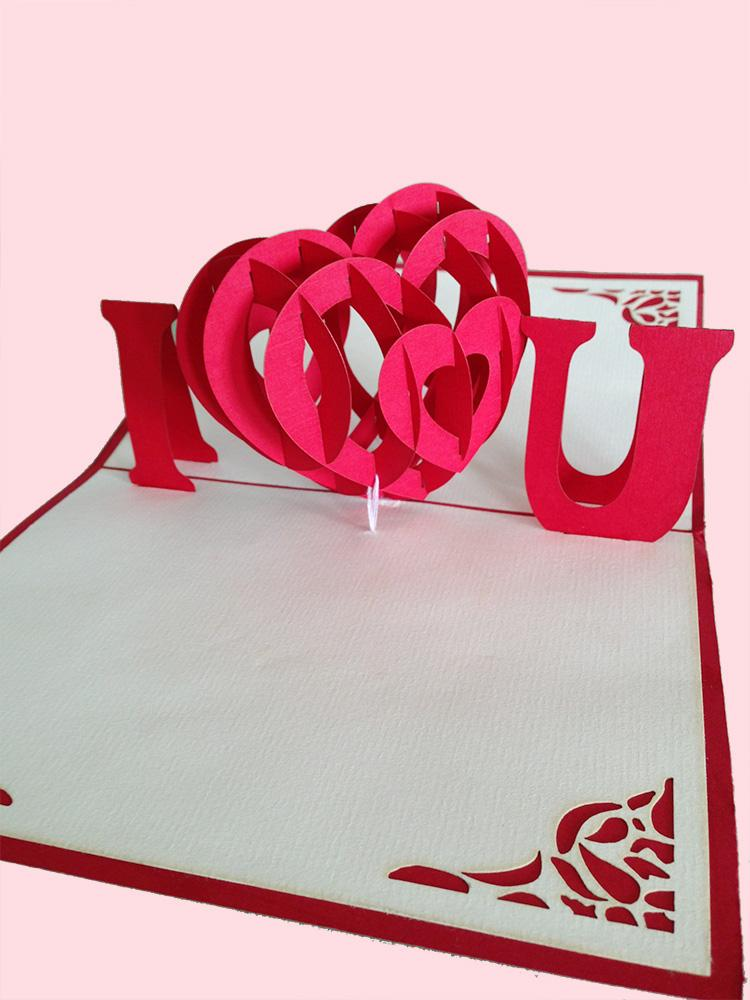 i love u handmade 3d pop up fanta end 9 20 2017 12 11 am