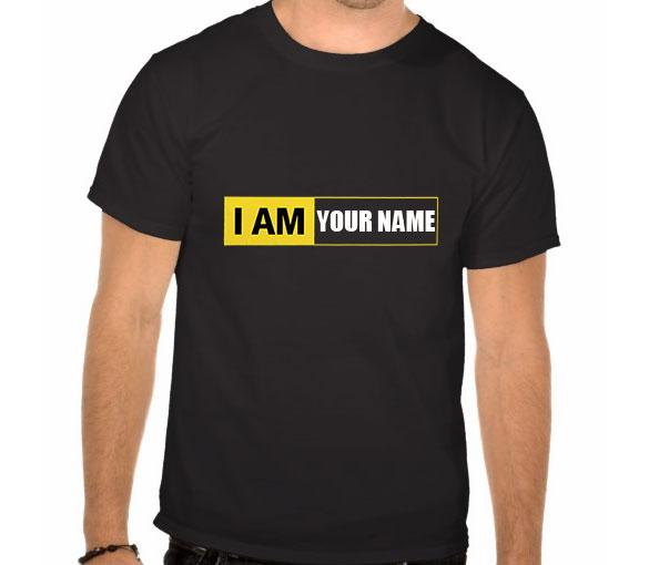 I am nikon t shirt print your own na end 9 5 2016 2 15 pm for Name printed t shirts online