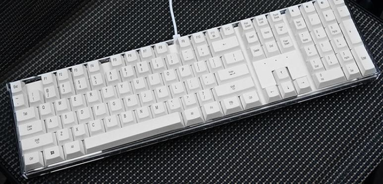 I-ROCKS WIRED USB CRYSTAL KEYBOARD IK6 (WHITE)