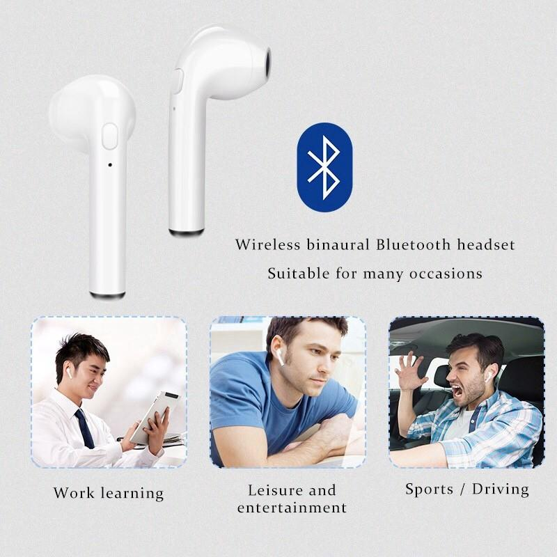 i7S Bluetooth Earphone For IOS & ANDROID Devices