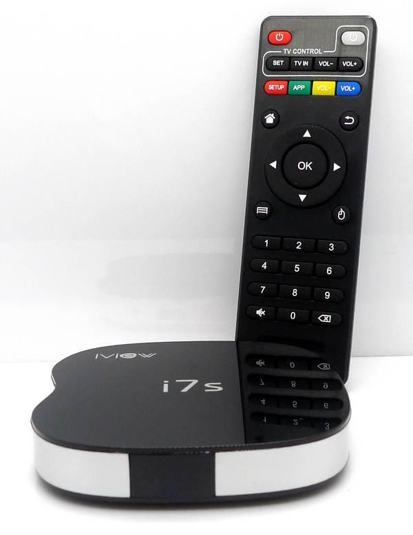 i7s Quad Core Android Box iview 1G 8G Smart 4k 265 Kodi MyIPTV