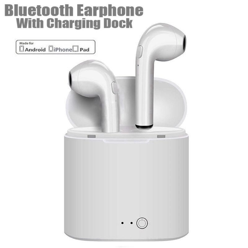 55e64ea7dd2 I7S TWS Earphones Wireless Earbuds Bluetooth Stereo Headset. ‹ ›