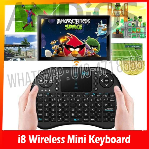i8 Wireless Mini Keyboard Touch Pad Android TV box PC MAC