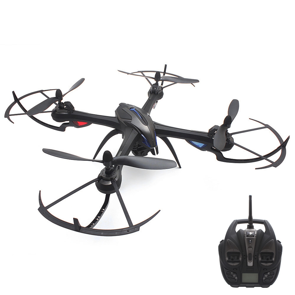I8H 2.4GHZ 4CH 6 AXIS GYRO RC QUADCOPTER WITH HD CAMERA AIR PRESS ALTITUDE HOL