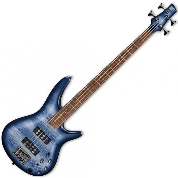 Ibanez SR300E-NPM Navy Planet Matte 4-String Electric Bass Guitar (SR3