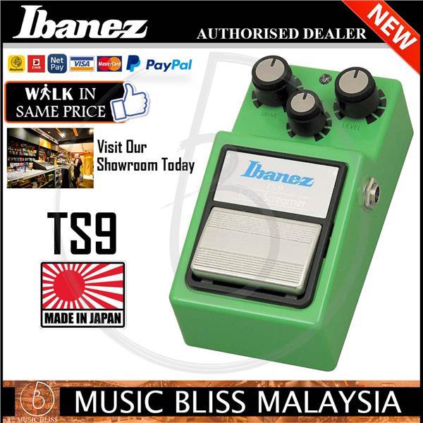 Ibanez TS9 Tube Screamer Overdrive Effects Pedal (TS-9)