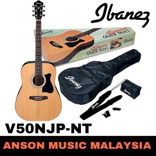 Ibanez V50NJP-NT Acoustic Jampack, Natural High Gloss