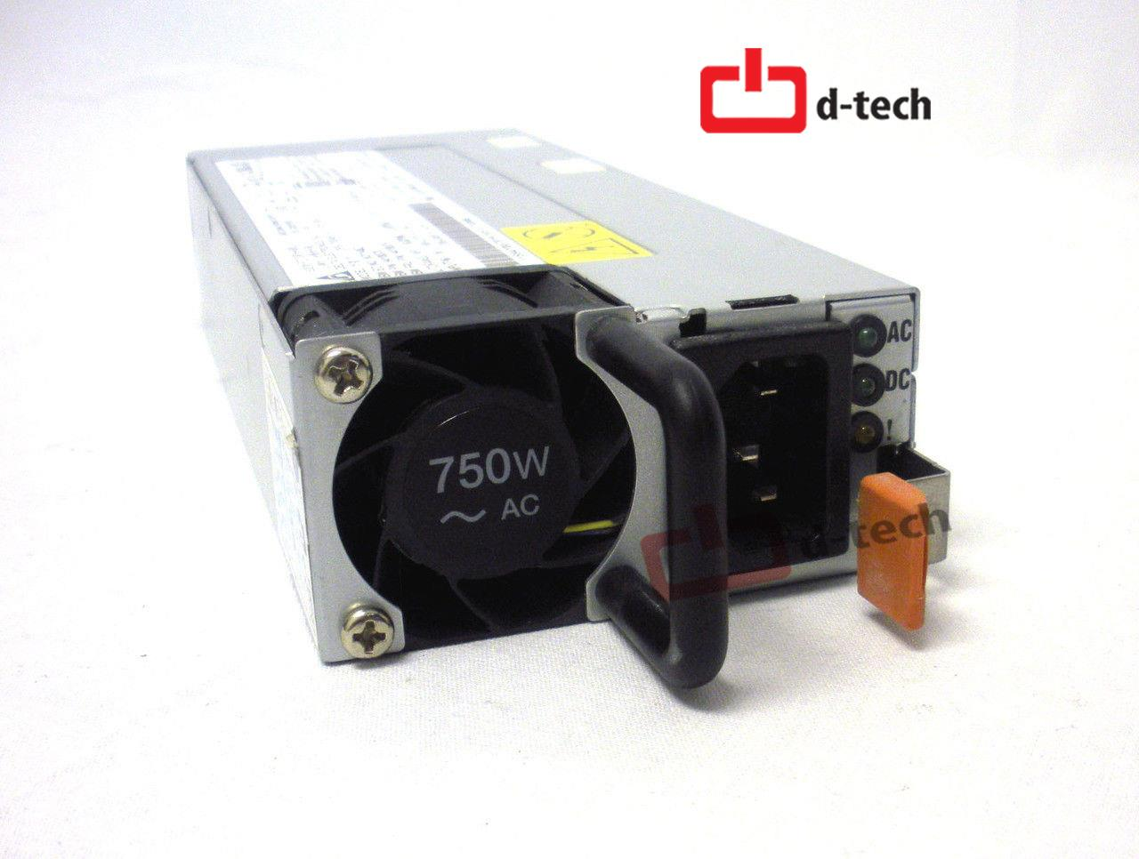 IBM 750W POWER SUPPLY PN: 94Y8115 94Y8116 94Y8078 94Y8079