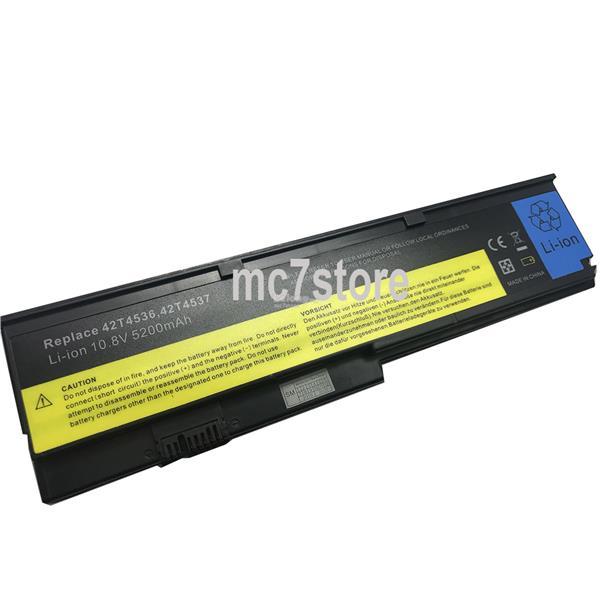 IBM Lenovo ThinkPad X200 X200s X200si 42T4536 43R9255 battery