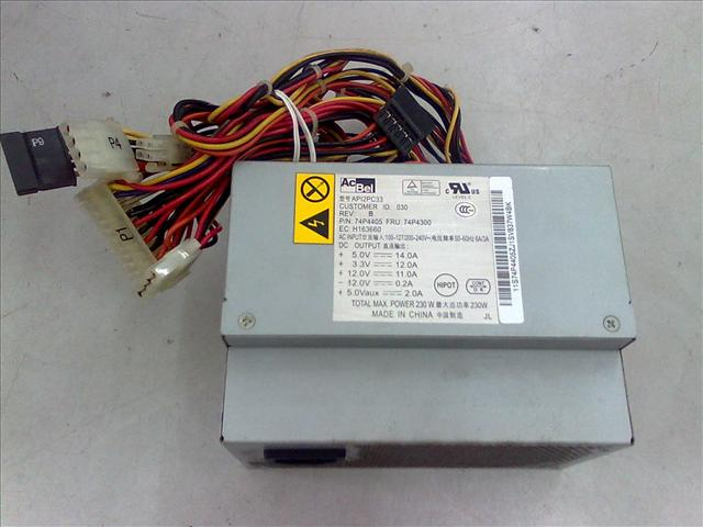 IBM ThinkCenter Power Supply PN74P4405 090211