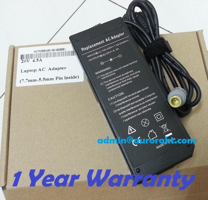 New IBM ThinkPad X60 X60S X61 X61S X200 X300 Laptop AC Adapter Charger