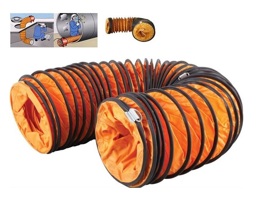 Flexible Duct Hose : Icasu quot meter air ventilator fl end pm