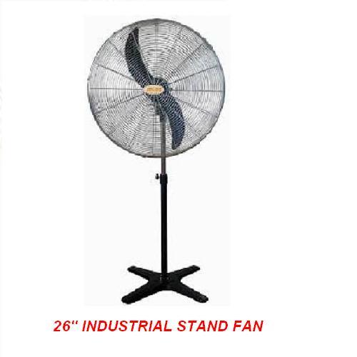 Industrial Stand Fan : Icasu industrial stand fan end pm