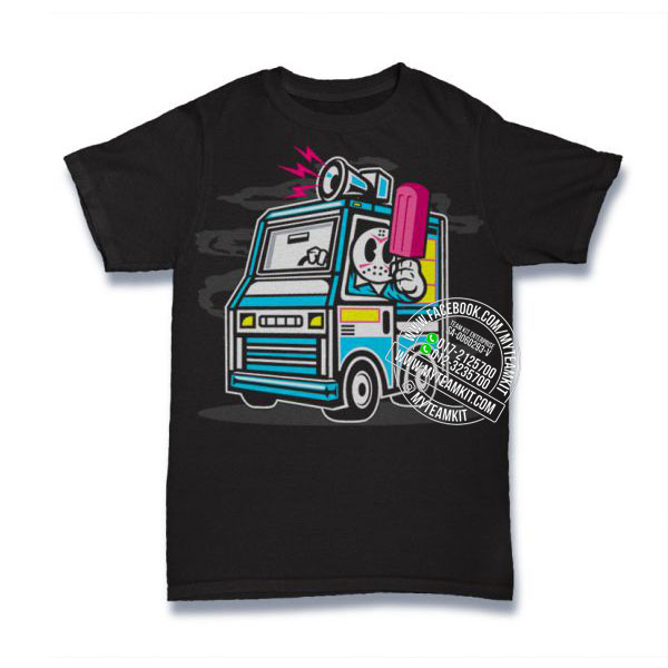Ice Cream Truck T-shirt Custom Tee