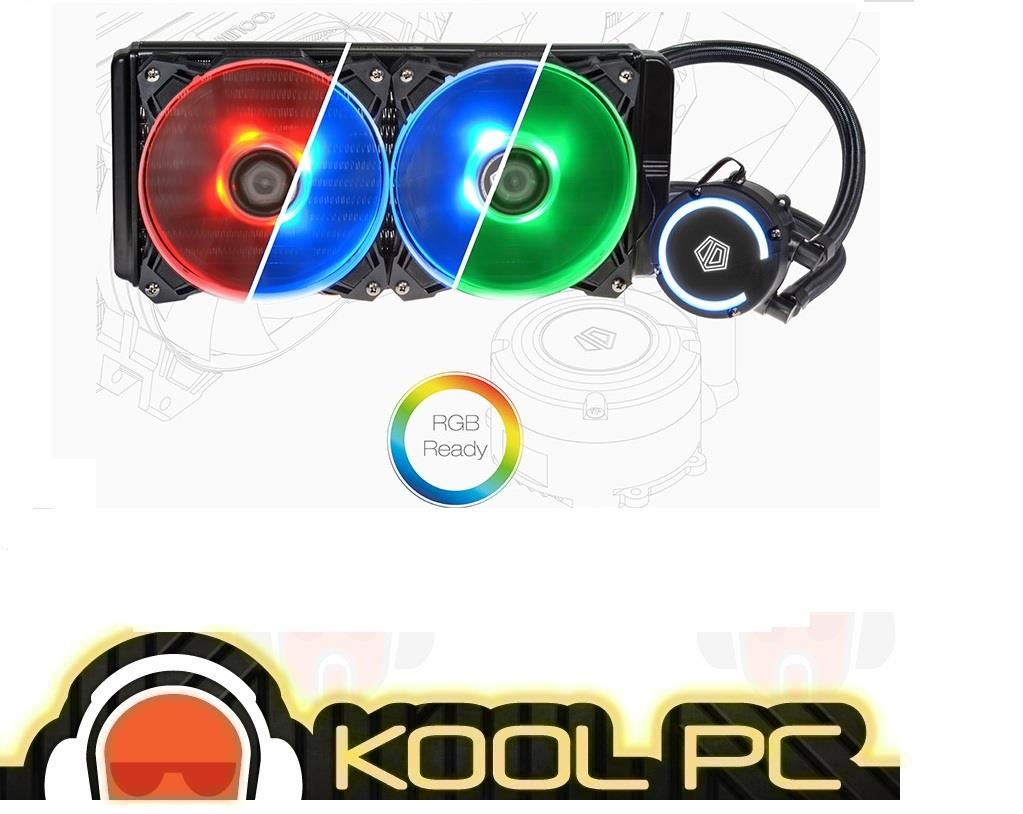 * ID-Cooling Auraflow 240 RGB High Performance Water Cooler