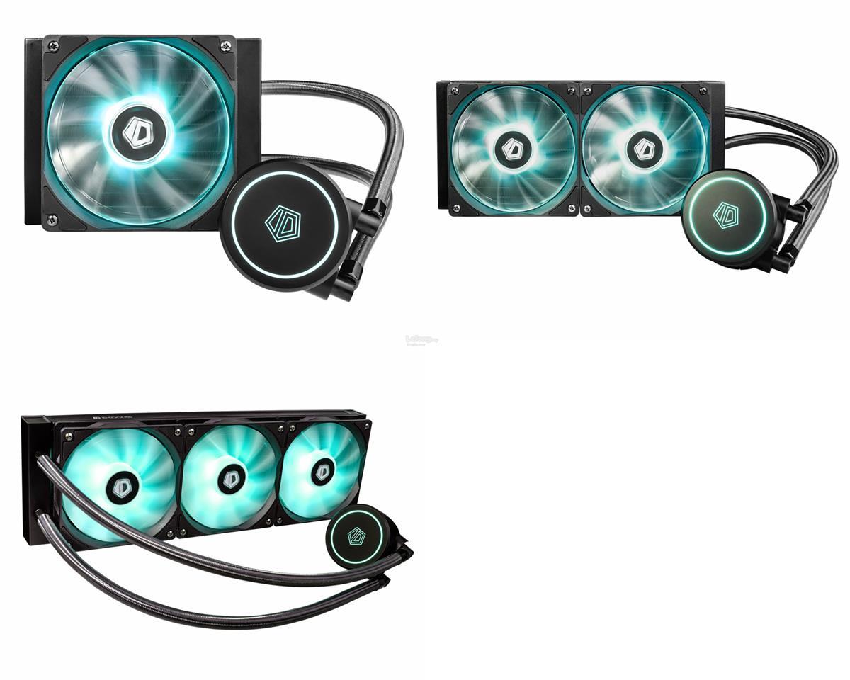 # ID-COOLING Auraflow X Series RGB AIO Liquid Cooler # 120/240/360