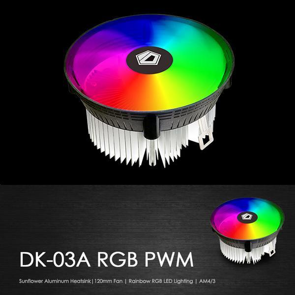 ID-Cooling DK-03a RGB PWM CPU Cooler For AMD